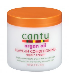 CANTU - ARGAN OIL LEAVE-IN CONDITIONING REPAIR CREAM