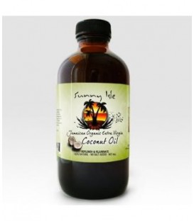 SUNNY ISLE - JAMAICAN ORGANIC XTRA VIRGIN COCONUT OIL - HUILE DE COCO