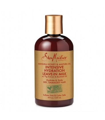 SHEA MOISTURE - MANUKA HONEY - LEAVE-IN MILK - LAIT