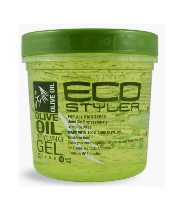 ECOSTYLER - OLIVE OIL STYLING GEL (236ML)