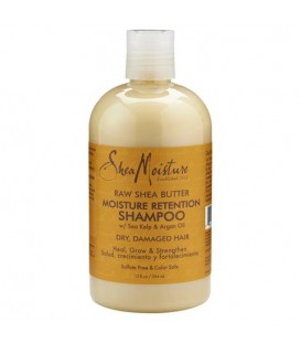 SHEA MOISTURE - RAW SHEA BUTTER - Moisture Retention Shampoo