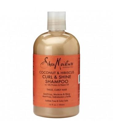 SHEA MOISTURE - RAW SHEA BUTTER - Curl and Shine Shampoo