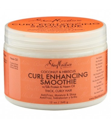 SHEA MOISTURE - COCONUT AND HIBISCUS- Curl Enhancing Smoothie