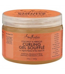 SHEA MOISTURE - COCONUT AND HIBISCUS- Curling Gel Soufflé